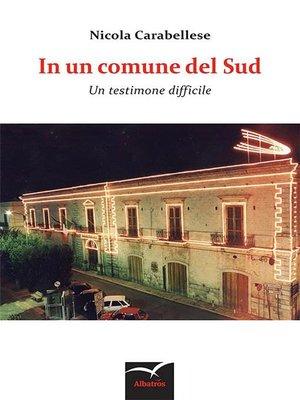 cover image of In un comune del Sud