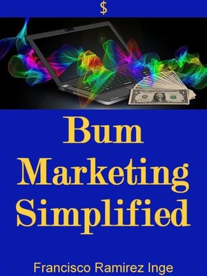 cover image of Bum Marketing Simplified