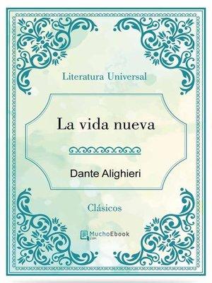 cover image of La vida nueva