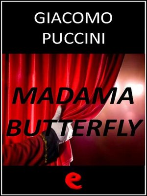 cover image of Madama Butterfly