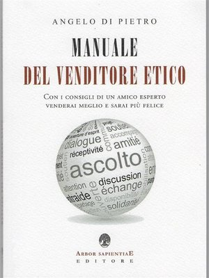 cover image of Manuale Del Venditore Etico
