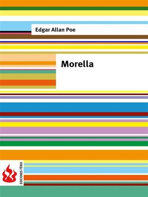 cover image of Morella (low cost). Edición limitada
