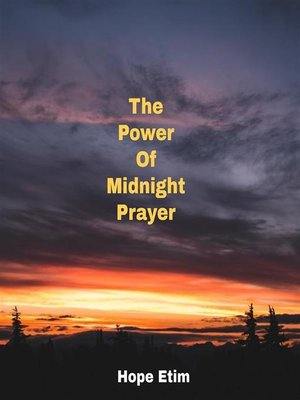 cover image of The Power of Midnight Prayer