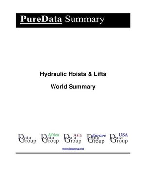 cover image of Hydraulic Hoists & Lifts World Summary