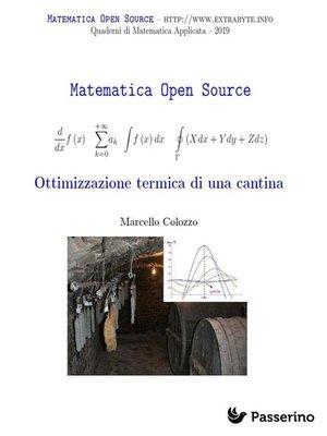 cover image of Ottimizzazione di una cantina termica