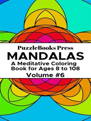 cover image of PuzzleBooks Press Mandalas – Volume 6