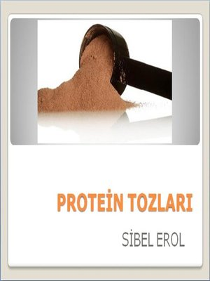 cover image of Protein Tozları