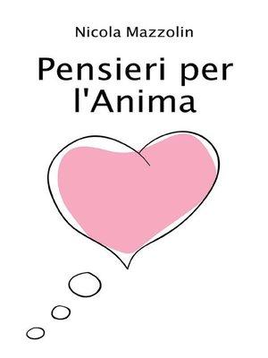cover image of Pensieri per l'anima