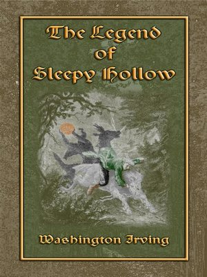 cover image of THE LEGEND OF SLEEPY HOLLOW--An American Literary Classic