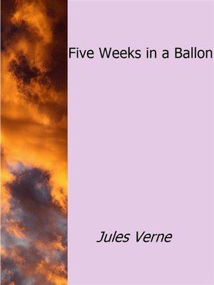 cover image of Five Weeks in a Ballon