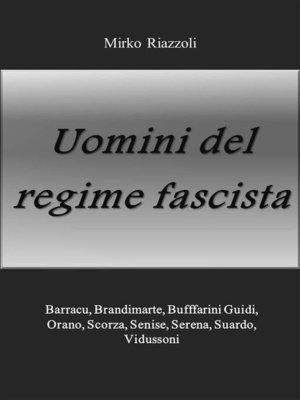 cover image of Uomini del regime