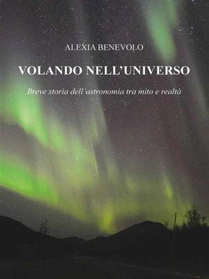 cover image of Volando nell'universo