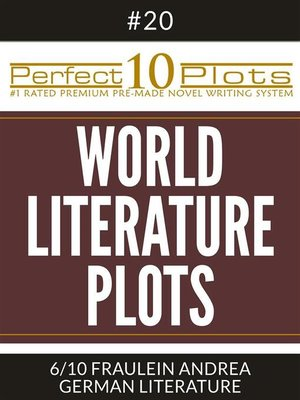 "cover image of Perfect 10 World Literature Plots #20-6 ""FRAULEIN ANDREA – GERMAN LITERATURE"""