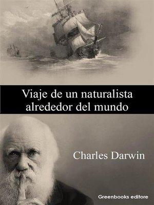 cover image of Viaje de un naturalista alrededor del mundo