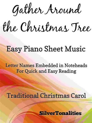 cover image of Gather Around the Christmas Tree Easy Piano Sheet Music