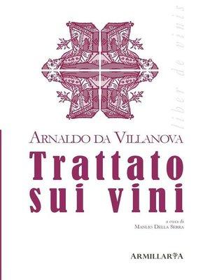 cover image of Trattato sui vini