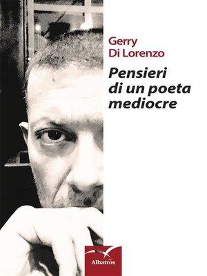 cover image of Pensieri di un poeta mediocre