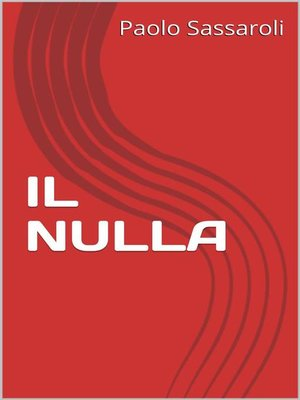 cover image of Il nulla