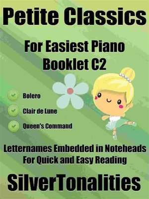 cover image of Petite Classics for Easiest Piano Booklet C2