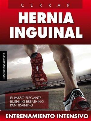 cover image of Hernia inguinal-- Cerrar sin cirugía