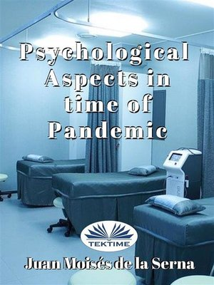 cover image of Psychological Aspects In Time of Pandemic