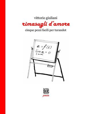 cover image of Rimasugli d'amore