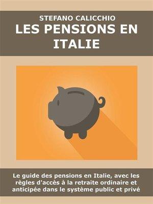 cover image of Les pensions en Italie