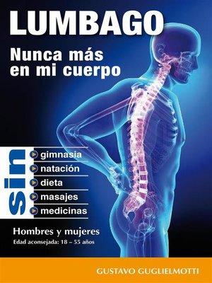 cover image of LUMBAGO--Nunca mais no meu corpo