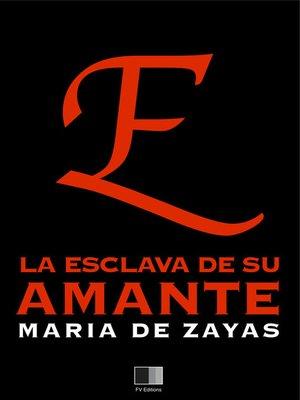 cover image of La esclava de su amante