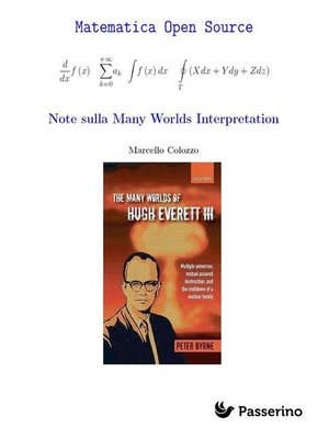 cover image of Note sulla Many Worlds Interpretation