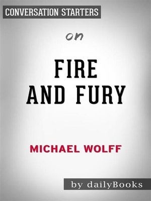 cover image of Fire and Fury--by Michael Wolff