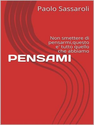 cover image of Pensami