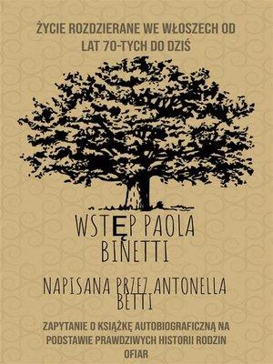 cover image of życie rozdzierane we włoszech od lat 70-tych do dziś