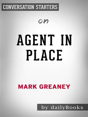 cover image of Agent in Place--by Mark Greaney