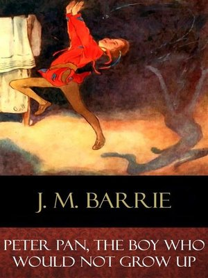 cover image of Peter Pan, the Boy Who Would Not Grow Up
