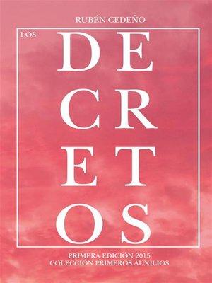 cover image of Los Decretos