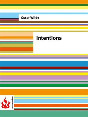 cover image of Intentions (low cost). Limited edition