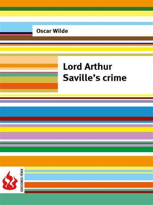 cover image of Lord Arthur Saville's crime (low cost). Limited edition