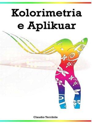 cover image of Kolorimetria e Aplikuar