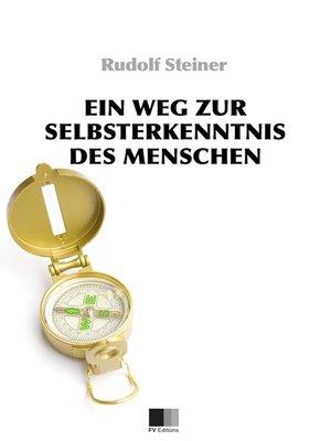 cover image of Ein Weg zur Selbsterkenntnis des Menschen. In acht Meditationen.