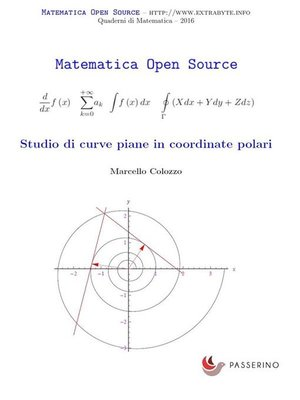 cover image of Studio di curve piane in coordinate polari