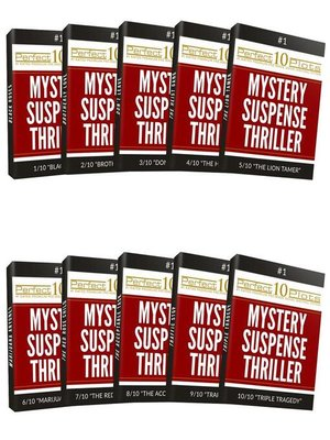 cover image of Perfect 10 Mystery / Suspense / Thriller Plots #1 Complete Collection