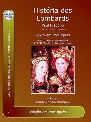 cover image of História dos Lombardos