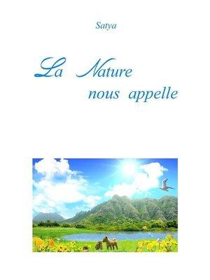 cover image of La Nature nous appelle