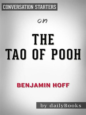 cover image of The Tao of Pooh--by Benjamin Hoff​