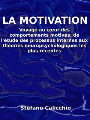 cover image of La motivation