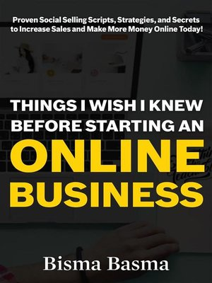 cover image of Things I Wish I Knew Before Starting an Online Business