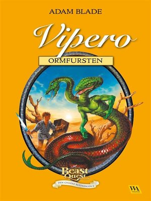 cover image of Vipero--ormfursten