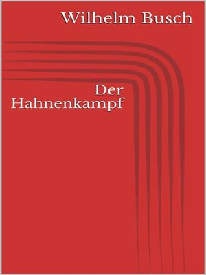 cover image of Der Hahnenkampf
