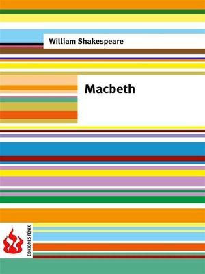 cover image of Macbeth (low cost). Edición limitada